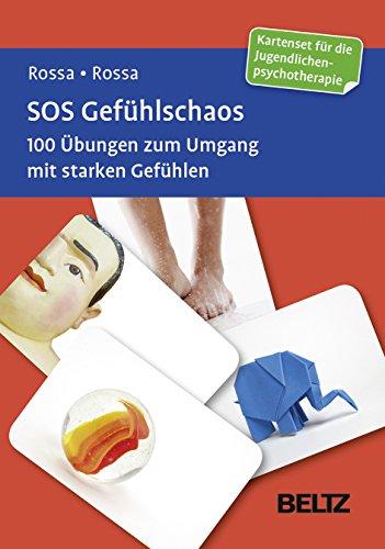 SOS Gefühlschaos: 100 Übungen zum Umgang mit starken Gefühlen. Kartenset für die Jugendlichenpsychotherapie (Beltz Therapiekarten)