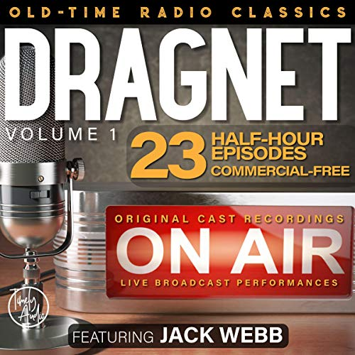 Dragnet, Volume 1 cover art