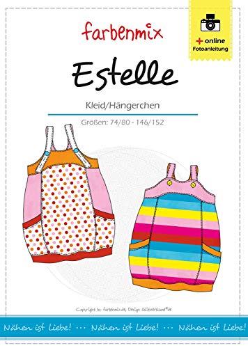 Farbenmix Estelle Schnittmuster (Papierschnittmuster für die Größen 74/80-146/152) Hängerchen