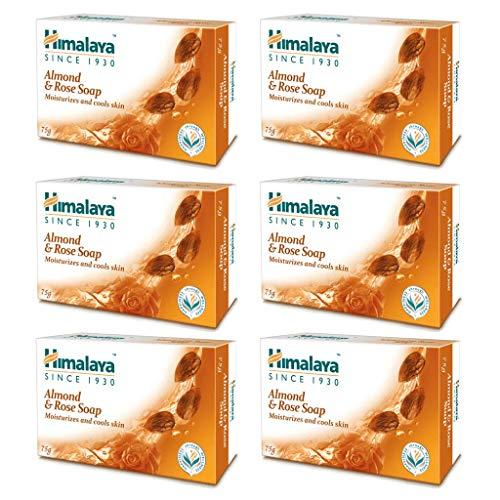 6 x Himalaya Herbals Moisturizing Almond Soap, 75g