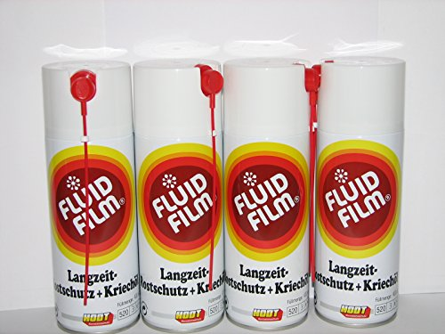4 x Fluid Film AS-R 400ml Sprühdose