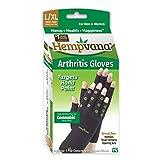 Best Gloves For Arthritis - Hempvana Arthritis Compression Gloves - Fingerless Gloves Made Review