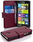 Cadorabo Hülle für Nokia Lumia 1320 - Hülle in Bordeaux