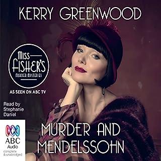 Murder and Mendelssohn audiobook cover art