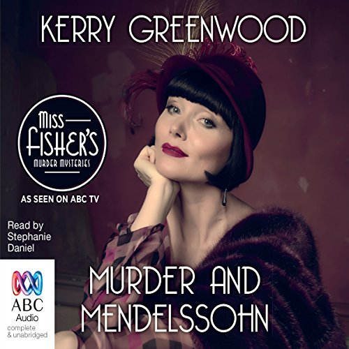 Murder and Mendelssohn audiobook cover art