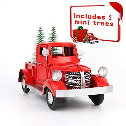 Ourwarm Red Truck Christmas Decor Vinta Buy Online In Canada At Desertcart