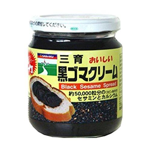 【お徳用 8 セット】 三育 おいしい黒ゴマクリーム 190g×8セット