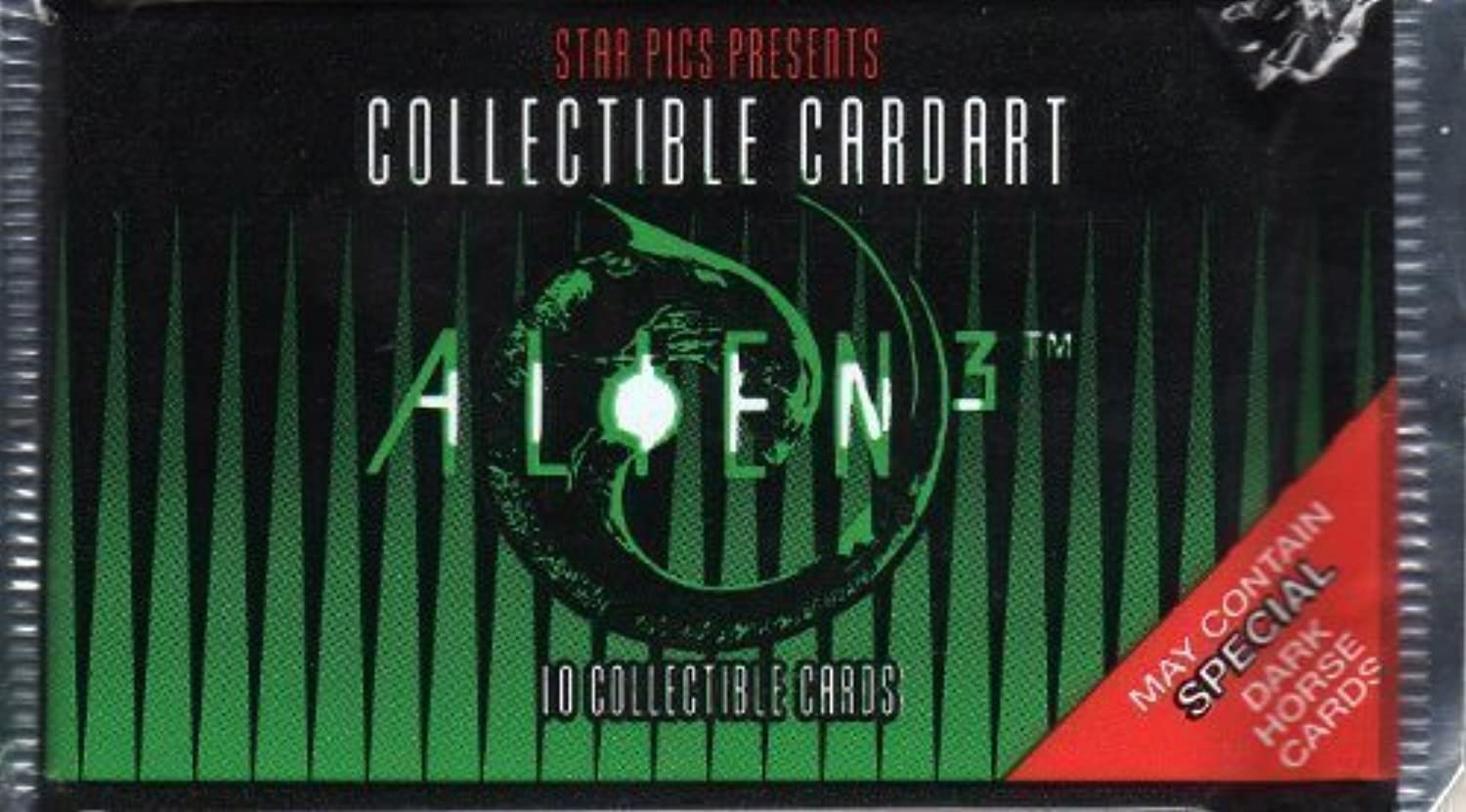Star Pics Presents Alien 3 Movie Collectible Card Art - May Contain Special Dark Horse Comic Cards by Star Pics