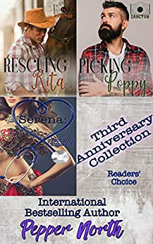 Third Anniversary Collection: Reader's Choice by [Pepper North]