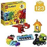 LEGO Classic - Ladrillos e Ideas, manualidades para nios y nias para construir a partir de 4 aos (11001)