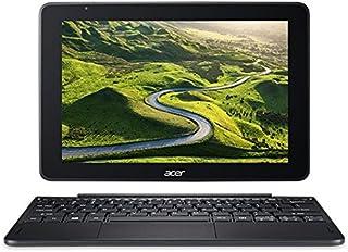Acer One 10 S1003 2-in-1 Laptop - Intel Atom, 10.1 Inch Touchscreen, 32GB, 2GB RAM, Windows 10, En-Ar Keyboard, Black