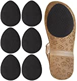 Dr. Shoesert Non-Slip Shoes Pads for Kid's Shoes, Small Adhesive Shoe Sole Protectors for Girls and Boys, Anti-Slip Shoe Grips (Black - 3 Pairs)