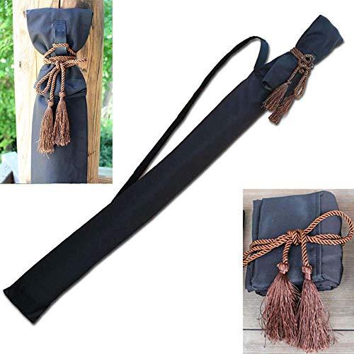 Schwerttasche Japan Too Knife Bag Schwert Set Taiji Schwert Han Schwert Samurai Schwerttasche Mit Trageriemen Brown-130cm