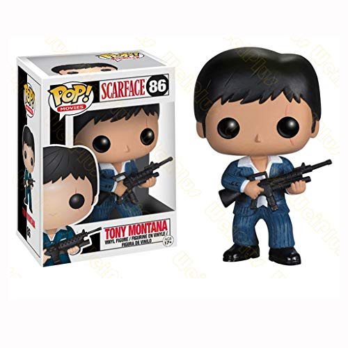 Nologo YYBB Pop-Figur!Filme: Scarface Tony Montana Action-Figur for Collection Figuren Anime Geschenke Spielzeug Meister Abbildung 3.75