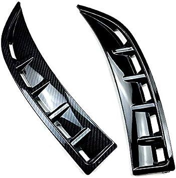CLA Class C118 CLA180 CLA200 2020 Camisin Paraurti Anteriore Air Vent Cover Trim Splitter Spoiler per Modello nel Fibra di Carbonio