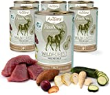 AniForte Hundefutter Nass WildForest 6 x 400g – nassfutter Hund, real Nature hundefutter, wolfsblut nassfutter, Hunde nassfutter, hundefutter nass 800g, Dog Food, Hunde Futter, nassfutter fã¼r Hunde