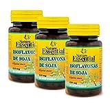 Isoflavonas de soja 620 mg. 50 perlas. (Pack 3 unid.)