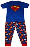 Superman DC Comics Hombres Logo Set de Pijama de Dos Piezas - Medium