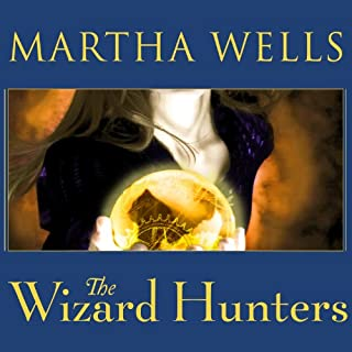 The Wizard Hunters audiobook cover art