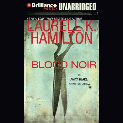 Blood Noir audiobook cover art