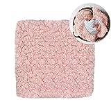 Manta de Piel sintética Suave y cálida para fotografía de bebé, para bebés...
