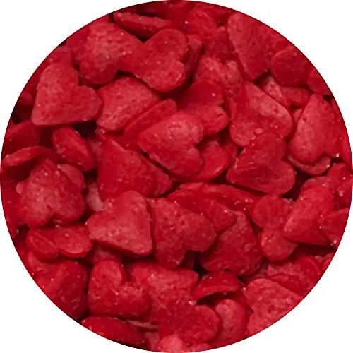 Mini Red Hearts Sprinkles