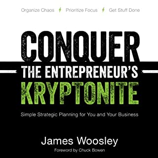 Conquer the Entrepreneur's Kryptonite audiobook cover art