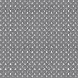 babrause ® Baumwollstoff Anker Mini Grau Webware Meterware