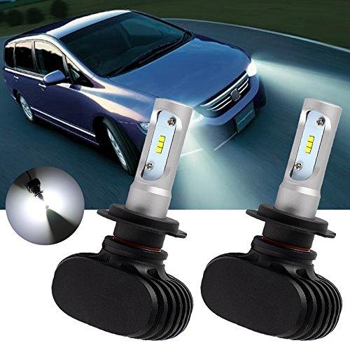 TUINCYN H7 LED Ampoules de Phare 6500 K 8000 lumens extrêmement Lumineux Automobile CSP Puce kit de Conversion 50 W Circulation diurnes