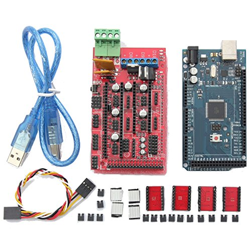 MASUNN Ramps 1.4 + Mega2560 R3+ A4988 Optical Endstop 3D Printer Mainboard