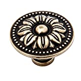 5Pcs Farmhouse Nordic Simple Style Vintage Antique Bronze Door Handle Furniture Knobs Pull for Kitchen Cabinets Cupboard Closet 2#