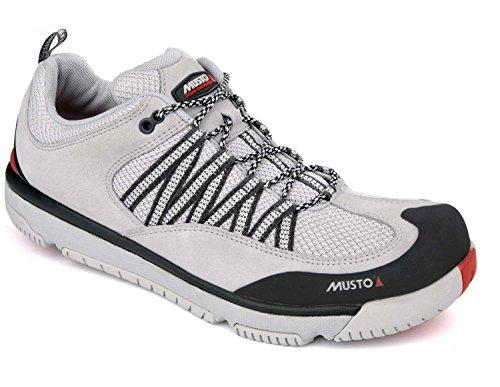 Musto Gp Race Schuhe Light Grey - Unisex - Leichtgewicht - Konzentrieren Sie Sich auf das Rennen