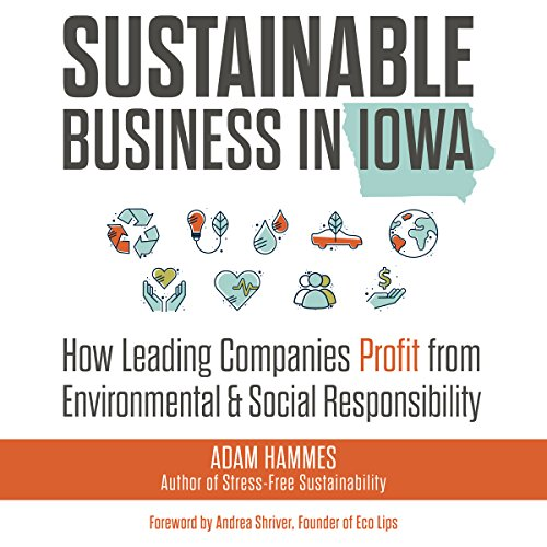 Sustainable Business in Iowa audiobook cover art