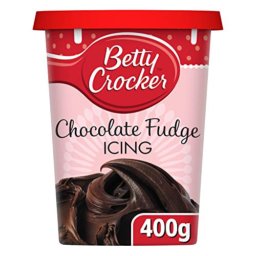 Betty Crocker Chocolate Fudge Icing 400g - Schokoladen Toffee Kuchenglasur