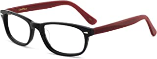 OCCI CHIARI Women Fashion Eyewear Frames Colorful Rectangular Non-prescription Eyegl With Clear Lenses