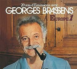 20 Ans D'Émissions Avec Georges Brassens À Europe 1 - Édition Limitée (Digipack 3 Volets)
