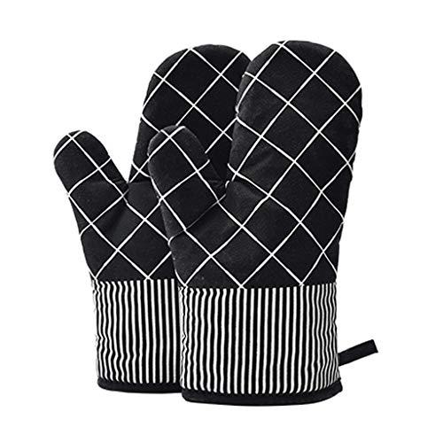 SAP- Bakken Handschoenen Oven Handschoen Anti-broeien handschoenen hittebestendig Barbecue handschoenen Keuken bakoven Special Gloves Hitte bestendig (Size : L28*W18cm-F)