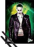 1art1 Suicide Squad Poster (91x61 cm) Der Joker Inklusive