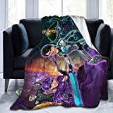 AIRCRAFT Troll-Hunters Soft Throws Blankets Air Conditioning Plush Blanket for Couch Bed Living Room Home Decor for Adult Kids 50'x40'