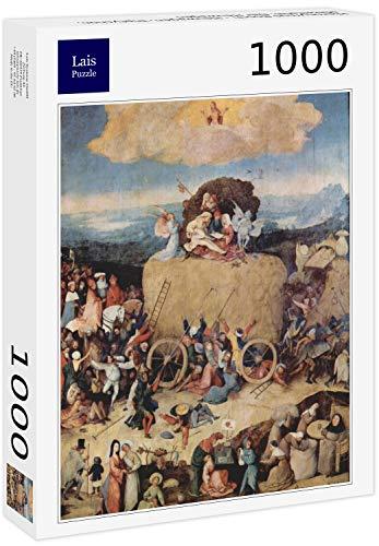 Lais Puzzle Hieronymus Bosch: carro da Fieno, trittico, Pannello Centrale: Il carro da Fieno 1000 Pezzi