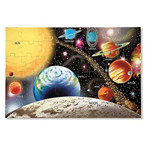 Melissa & Doug Fußbodenpuzzle - Sonnensystem (48 Teile)