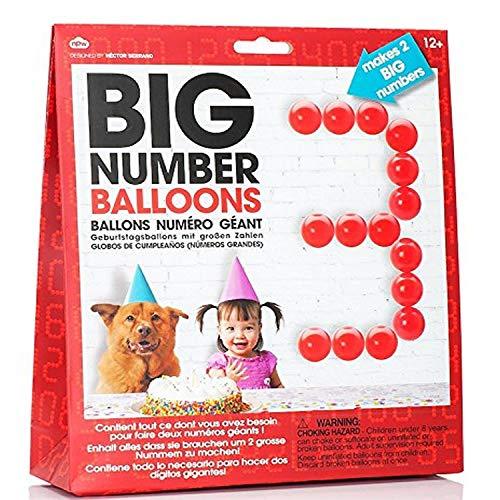 Groot aantal verjaardag ballonnen