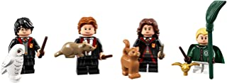 LEGO Harry Potter Collectible Minifigures Harry Potter, Ron Weasley, Hermione Grainger, and Draco Malfoy