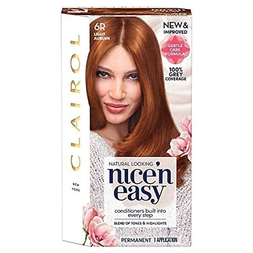 終点熱心なガソリン[Nice'n Easy] Nice'N簡単6R光オーバーン - Nice'n Easy 6R Light Auburn [並行輸入品]