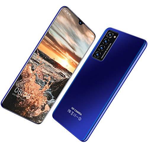 Teléfono Móvil Libre, Smartphone 5G Android 10.0 Dual SIM 6,7 Pulgadas 12GB RAM+64/128GB ROM 5600mAh, Face ID, WiFi, Desbloqueo de Huellas Dactilares