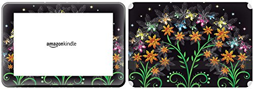 Get It Stick It skintabamafirehd89 48 patronen, met vlinders huid voor Amazon Kindle Fire HD