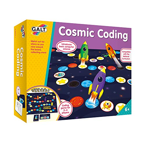 Galt Toys, Cosmic Coding Game, Learn to Code Board Game, Ages 6 Years Plus,...