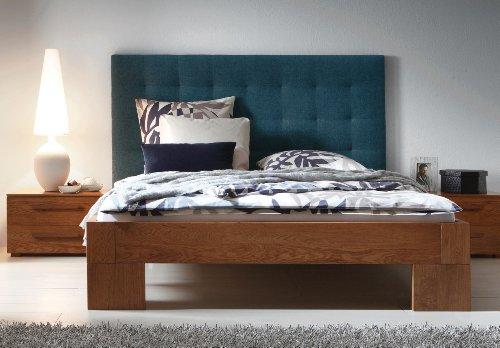 Stilbetten Bett Holzbetten Vaco II Eiche Natur geölt 100x200 cm