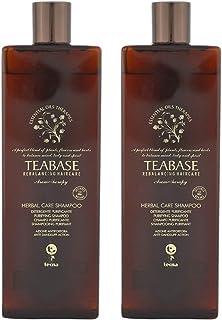 Shampoo antiforfora professionale 1000 ml tecna the spa teabase aromatherapy herbal care shampoo DUO PACK 2 x 500ml PROMOZ...