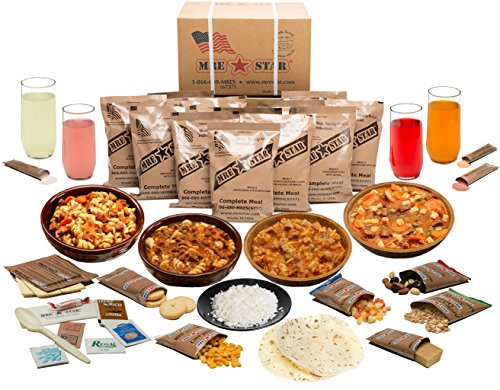 MRE Meal Packed 2020 With Heater